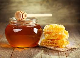 Honey can be used to soothe and heal the skin